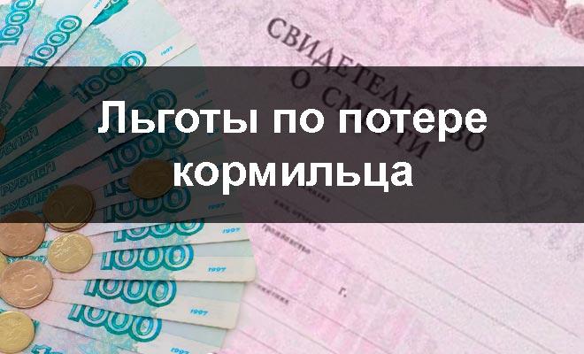 Изображение - Льготы при потере кормильца Lgoty-po-potere-kormiltsa